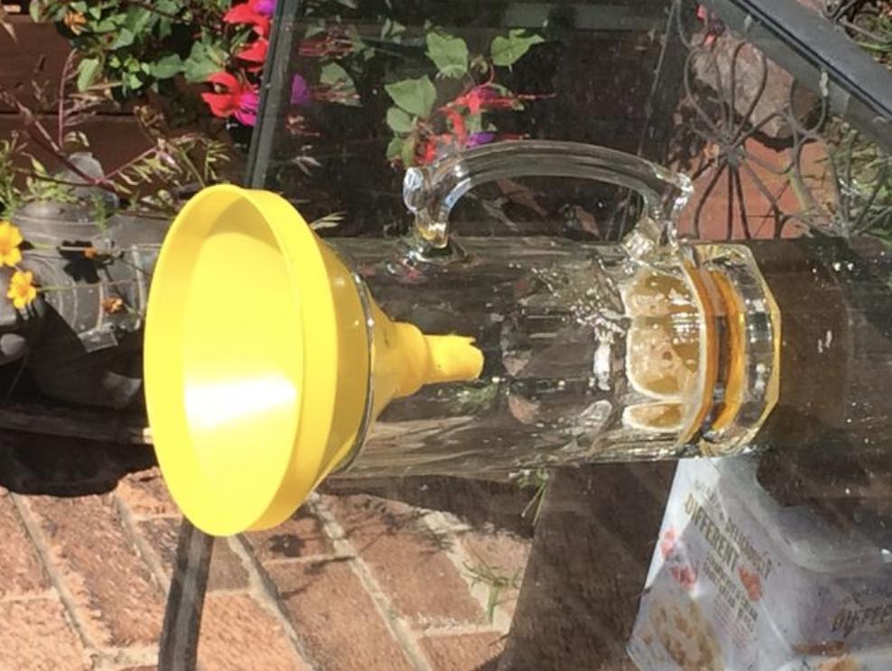 How To Make A Homemade Wasp Trap Grandma S Things