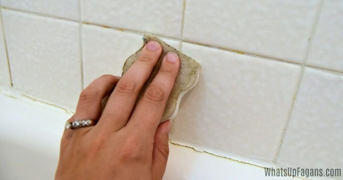 How To Deep Clean Shower And Kitchen Grout Grandma S Things
