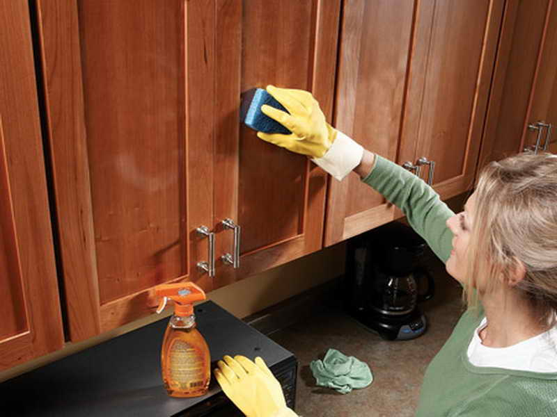 How To Clean Your Wooden Kitchen, What Is The Best Thing To Use Clean Wood Kitchen Cabinets